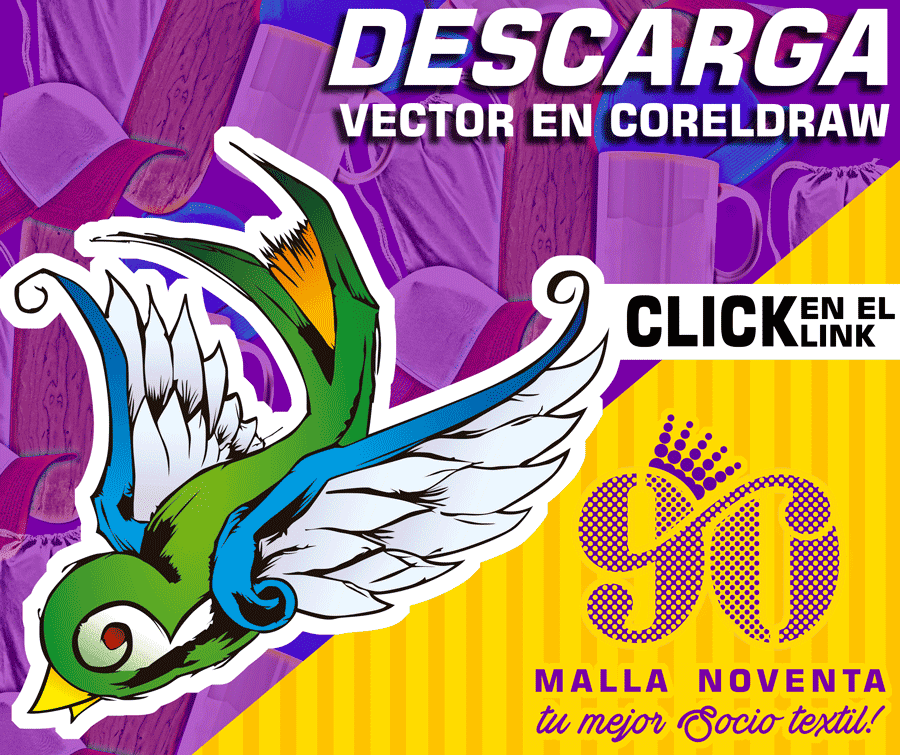 descarga gratis el vector de gorrion tatoo