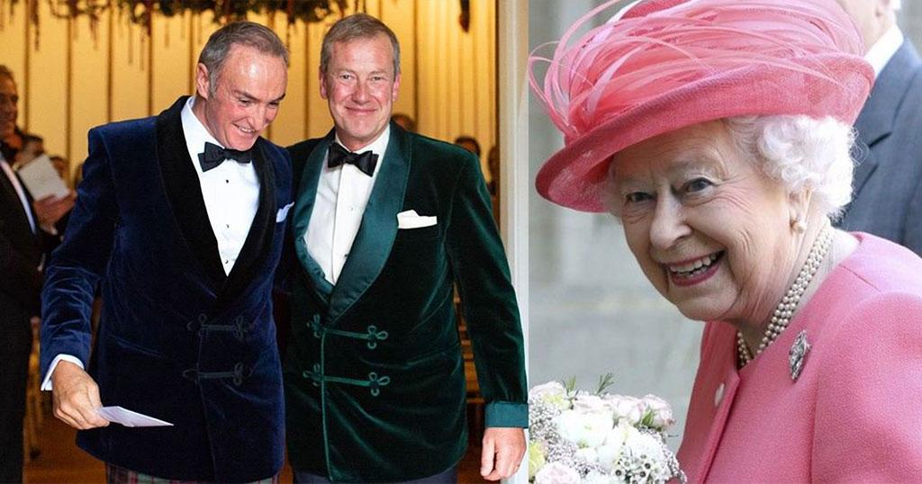 Ο πρώτος γκ@ι βασιλικός γάμος είναι γεγονός – Ξάδερφος της Βασίλισσας Ελισάβετ ζωντανή απόδειξη ότι η  Ελισάβετ ανήκει στην γνώση ράτσα
