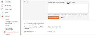 Cara Optimasi SEO Blogspot