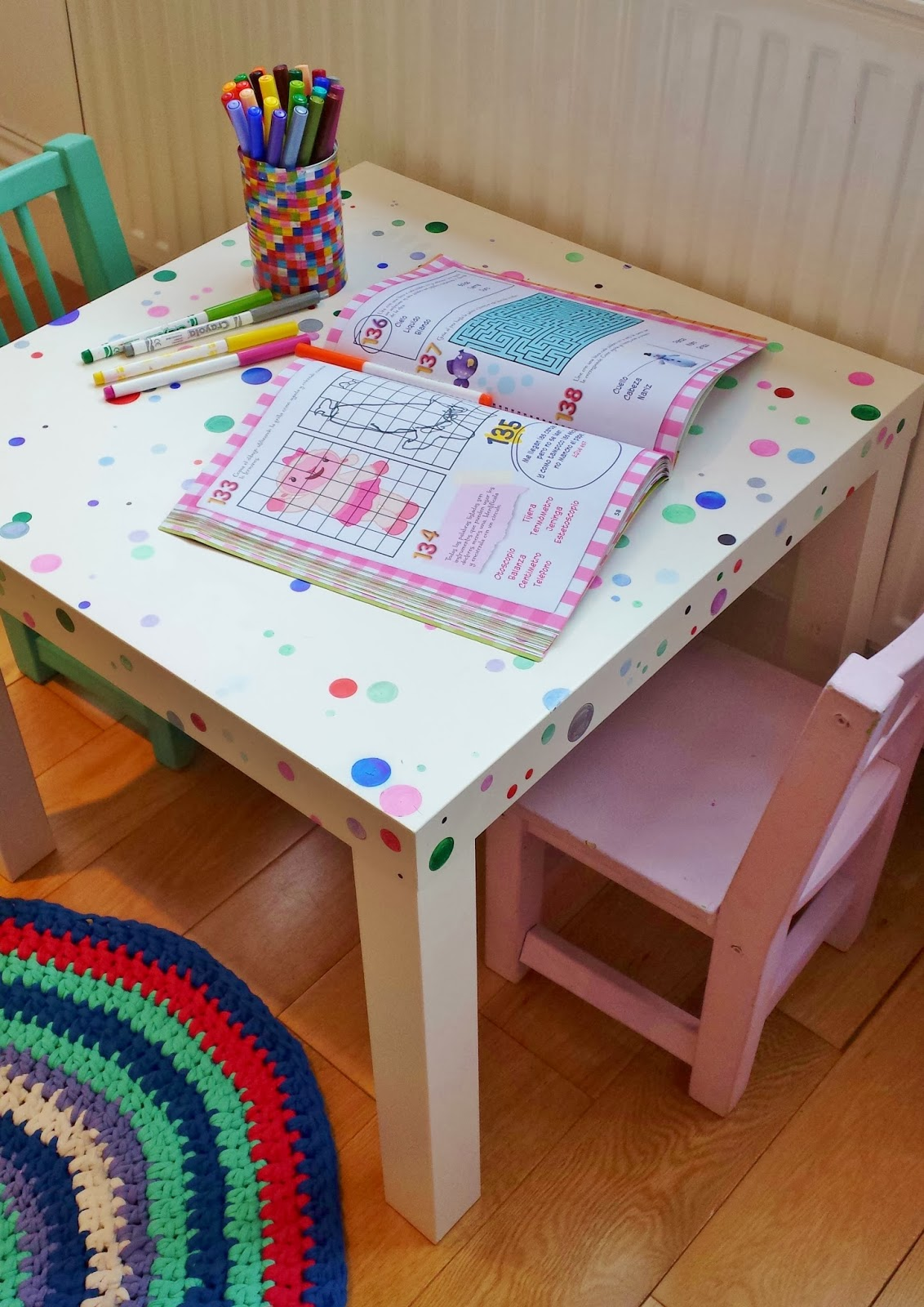 Kidkraft Table And Chairs: DIY. Ikea Hack. Mesa Y Sillas Para Niños / Soy Un Mix