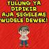 100 DP BBM Bahasa Jawa Gokil dan Lucu