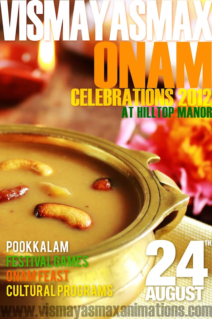 Vismayasmax celebrates ONAM festival on 24th August