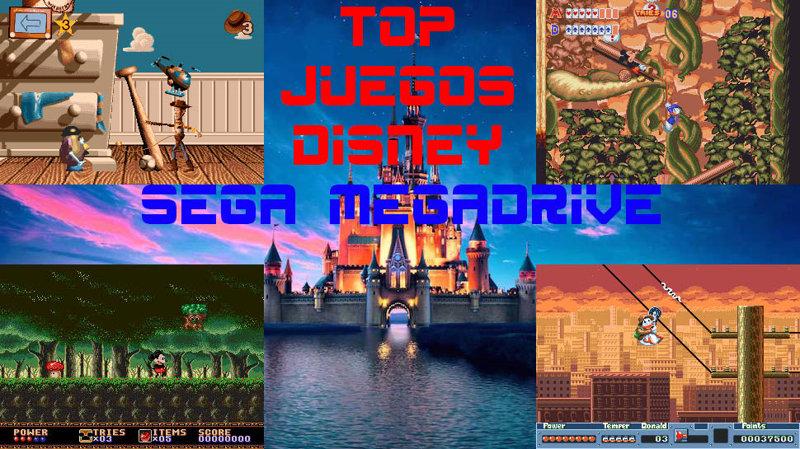 Top 5 Los Mejores Juegos De Disney Para Sega Megadrive Retroplayingbcn