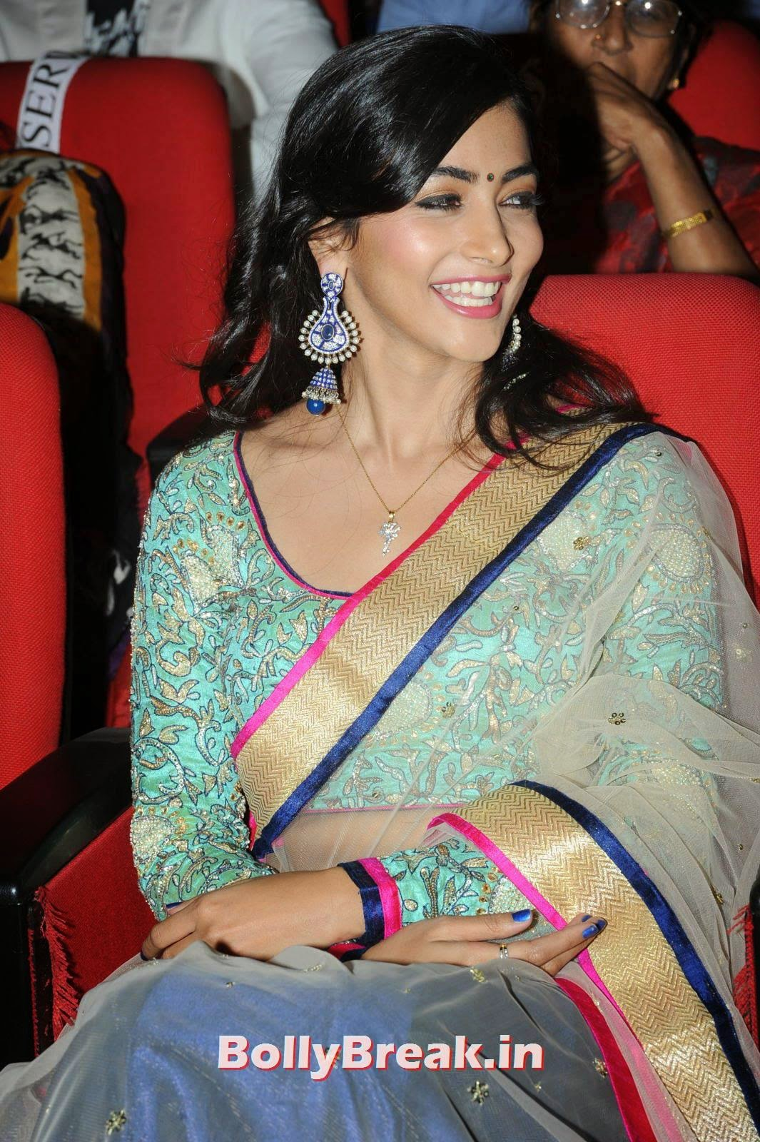 , hot Pics of Pooja Hegde from Mukunda Movie Audi Launch