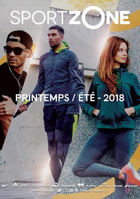 catalogue sport zone maroc printemps été 2018