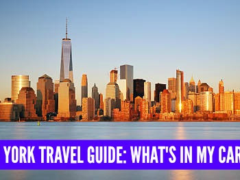NYC TRAVEL GUIDE: WHAT'S IN MY CARRY ON