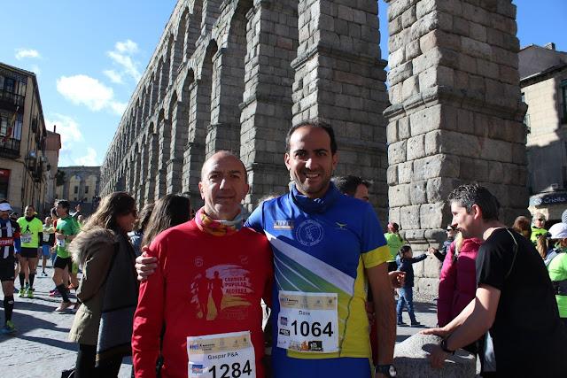 De la X Media Maratón de Segovia - Por Dave
