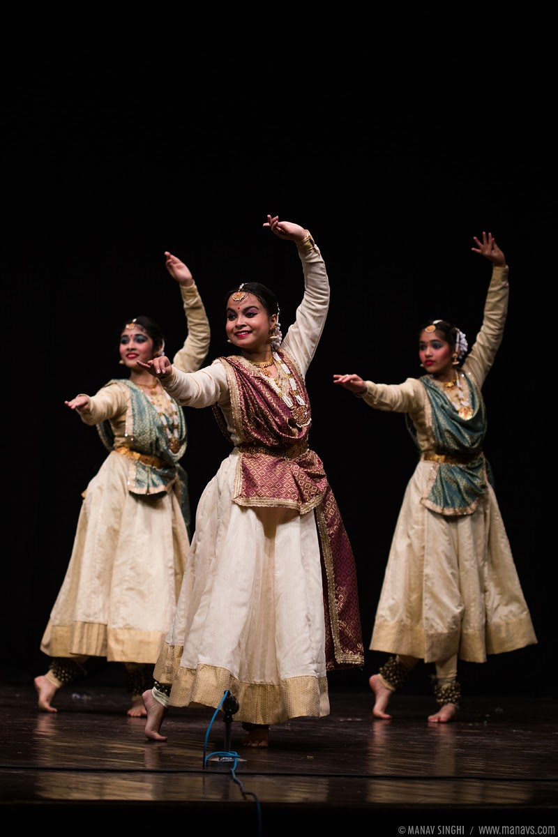 Students of Aarohini Kathak Dance Academy Jaipur