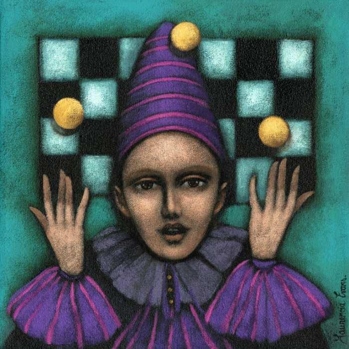 Мистические картины. Laurencia Evans
