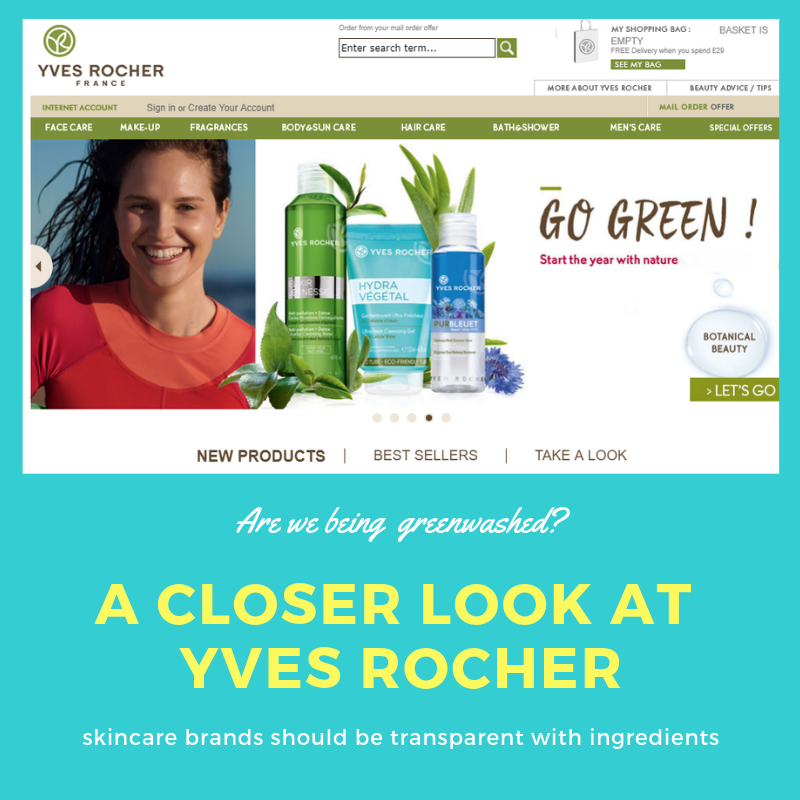 Are Yves Rocher telling the truth? Are we being Greenwashed?