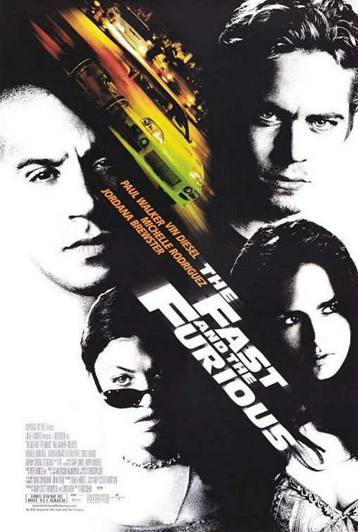 Fast and Furious 2001 movie poster