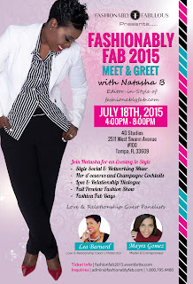 Fashionably Fabulous Meet and Greet with Natasha Bernard