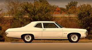 1969 Chevrolet Bel Air Sport Coupe L-72 Side Right