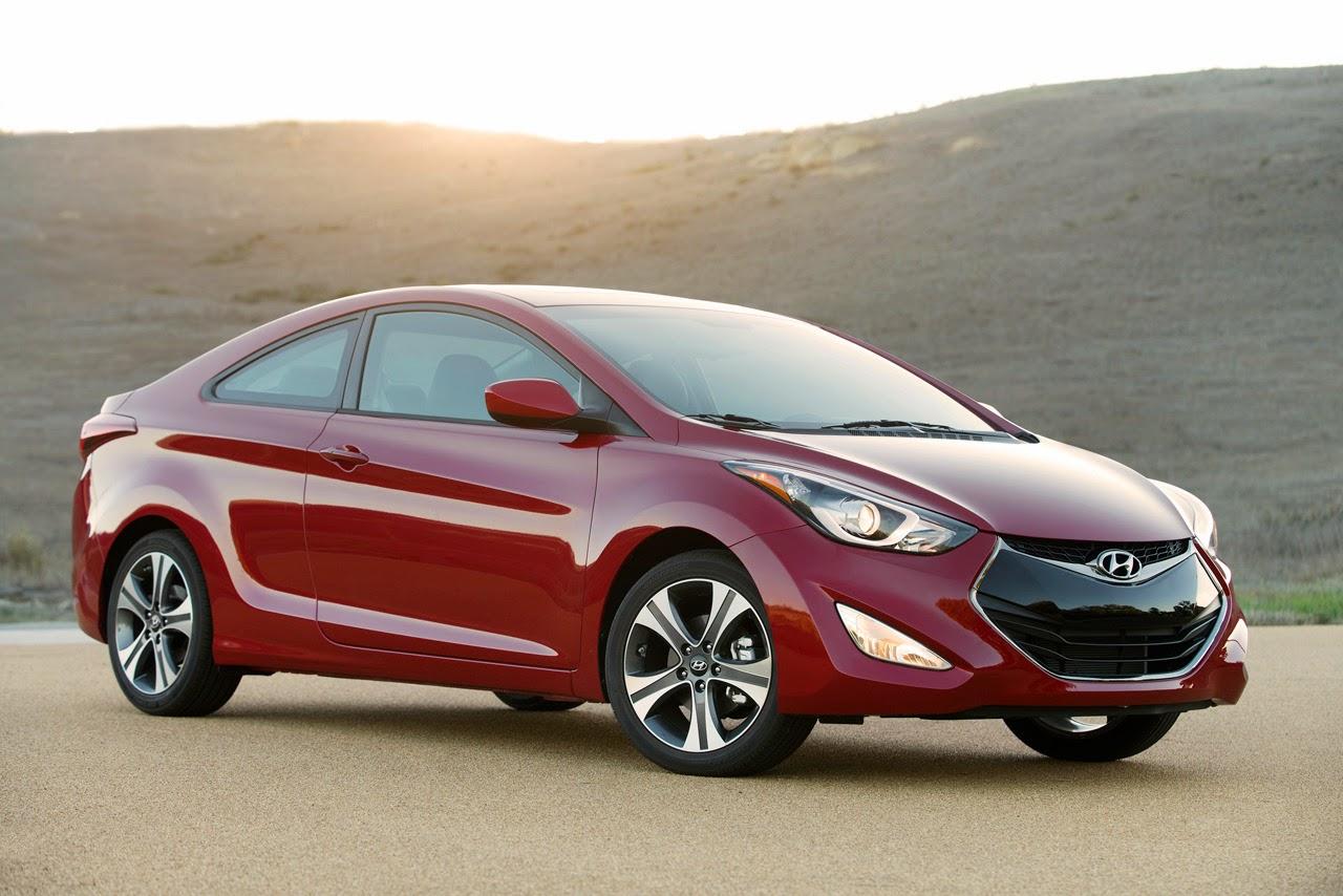 © Automotiveblogz: 2014 Hyundai Elantra Coupe Photos