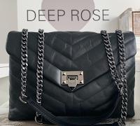 Logo Vinci gratis una borsa Deep Rose con le tue iniziali
