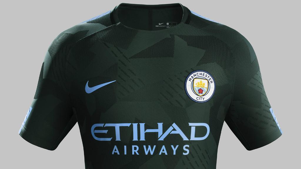 Maillot Extérieur Manchester City 2017