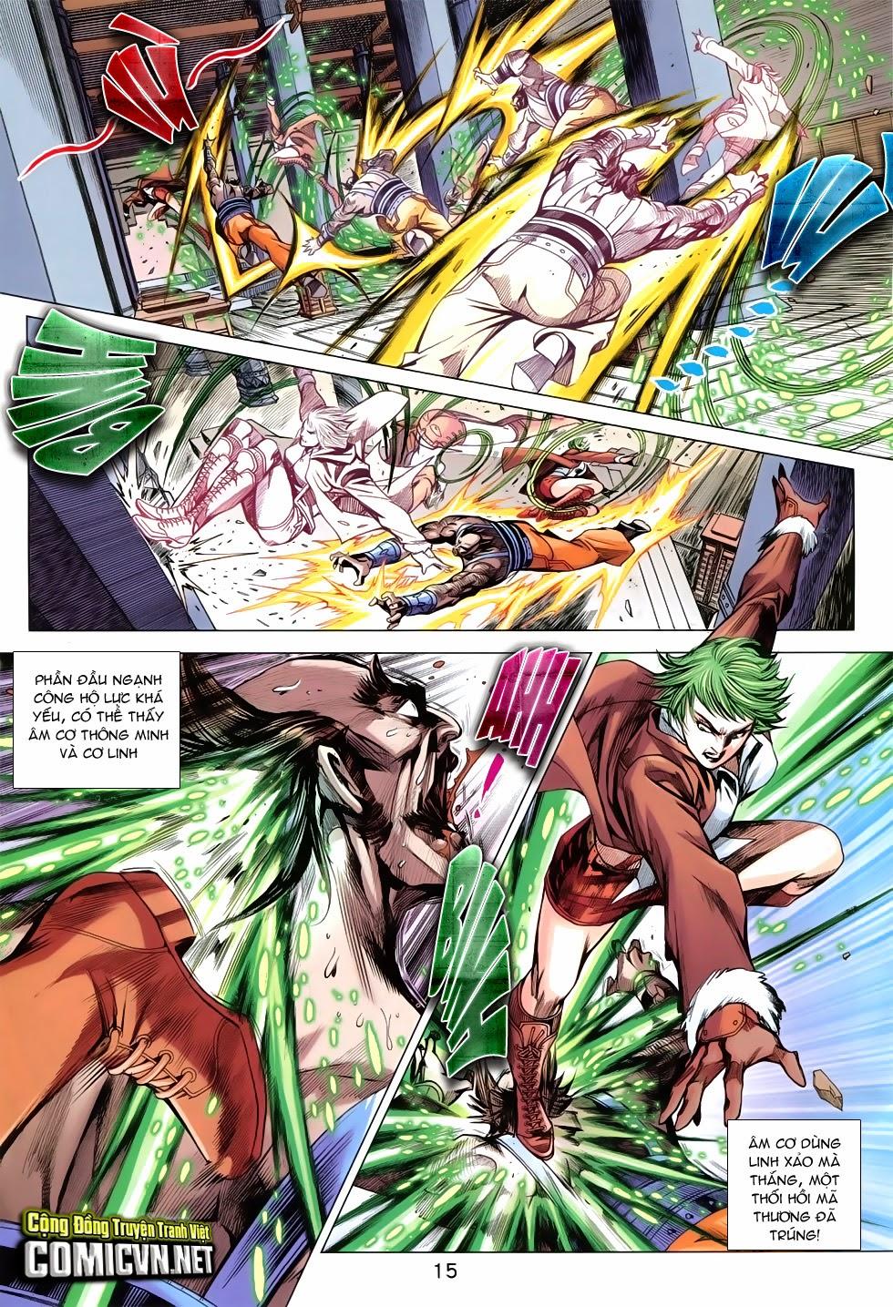 Tân Tác Long Hổ Môn Chap 744 page 15 - Truyentranhaz.net