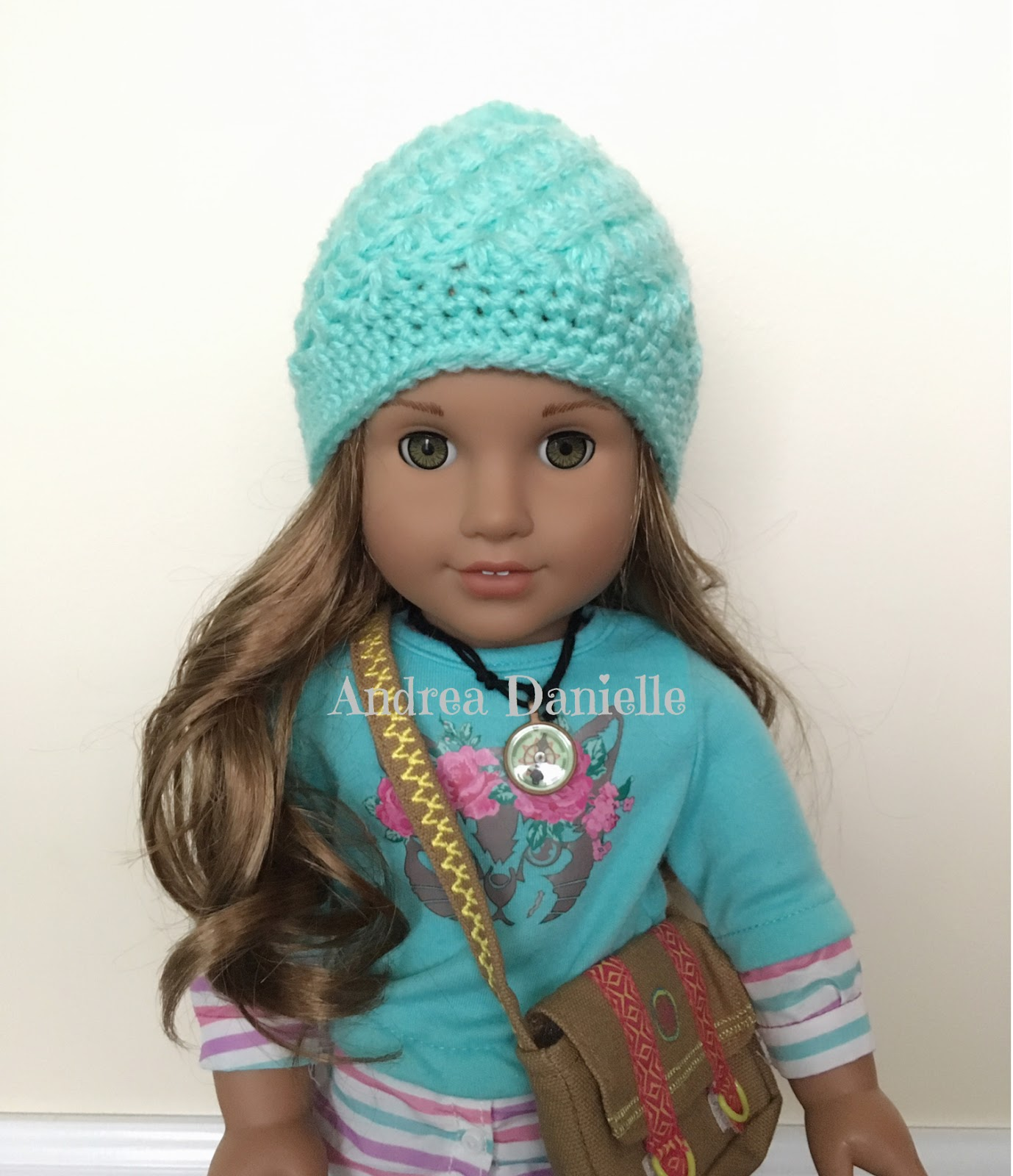You never know by andrea vanhooser womack payton hat crochet payton hat crochet pattern for american girl or 18 inch doll bankloansurffo Gallery