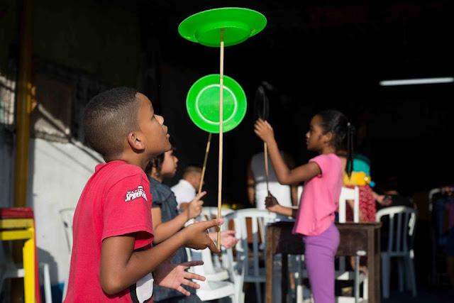 Projeto da Eslipa passa pelo ABC, Osasco, Guarulhos, São Paulo e Litoral! Circo nas Comunidades
