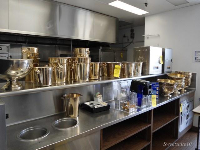 Four Season's Toronto champagne buckets