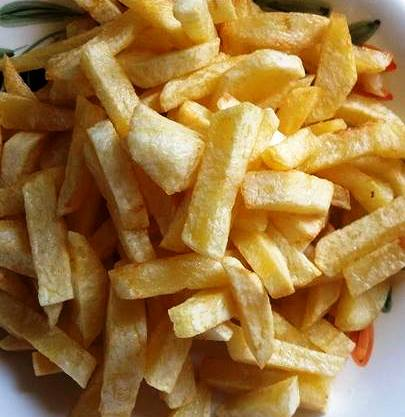 Don't forget the chips; homemade of course!