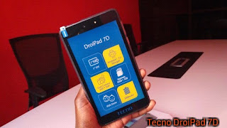 Tecno DroiPad 7D Review With Specs, Features And Price