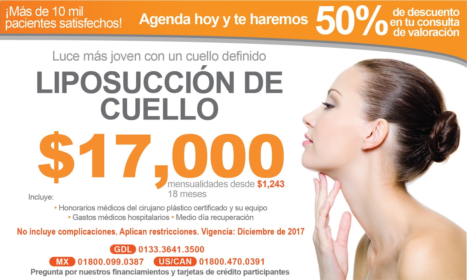 SALUTARIS MEDICAL CENTER: Cervicoplastia y Lipoláser de cuello