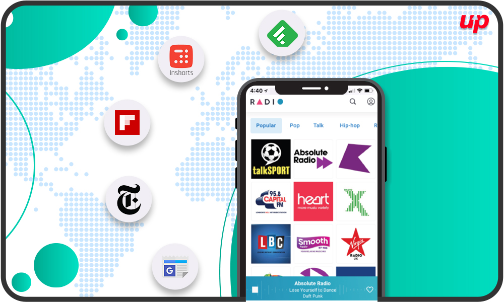 Get Latest Worldwide Updates with Top 5 News Apps | Top Rated Mobile