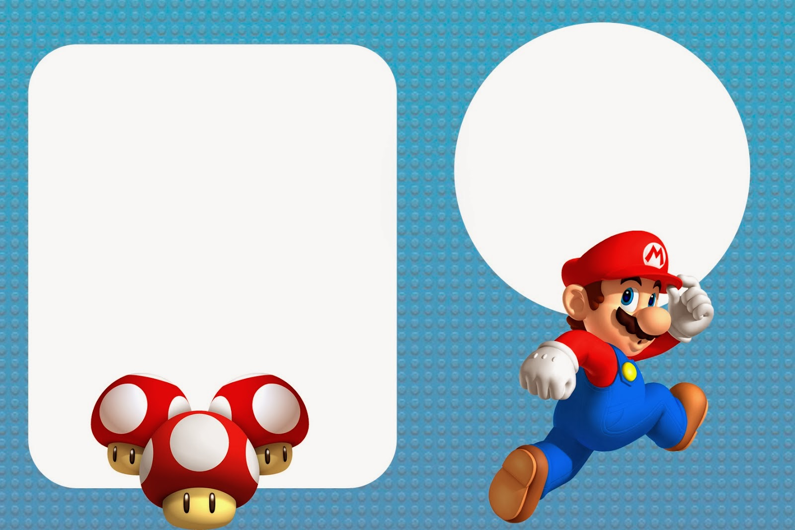 Super Mario Bros Free Party Printables And Invitations Oh My