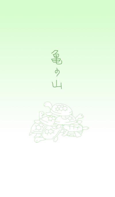 Pile turtle
