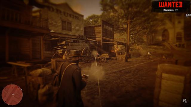 Dead Eye, salah satu skill unik dari Red Dead Redemption akan tetap ada di Red Dead Redemption 2.