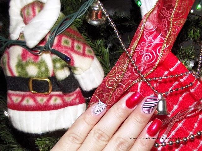 Expressão de Amor - Dica de unha para o Natal