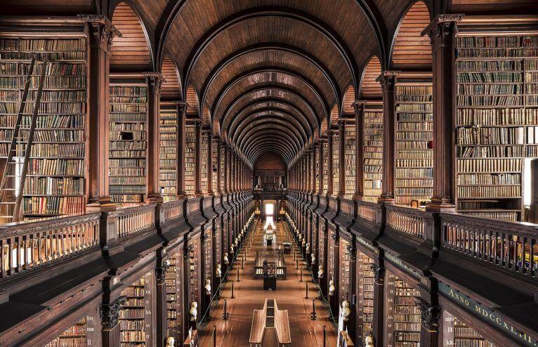 Biblioteca da Faculdade Trinity, Dublin