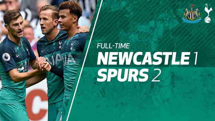 Hasil Newcastle United vs Tottenham Hotspur Skor Akhir 1-2 [Liga Inggris 2018 Pekan 1]