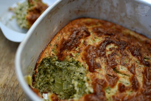 Soufflé de brócoli 04