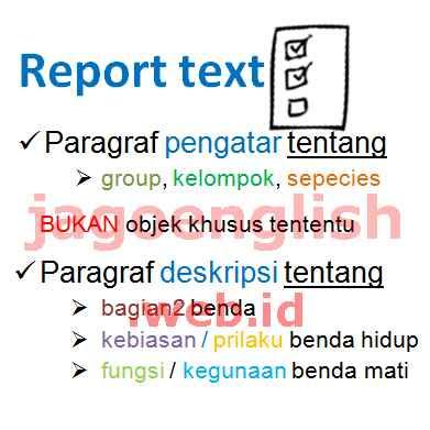 Contoh Soal Report Text