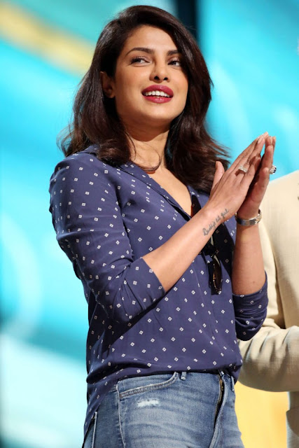 Priyanka Chopra: Rehearsing for the 88th Annual Academy Awards