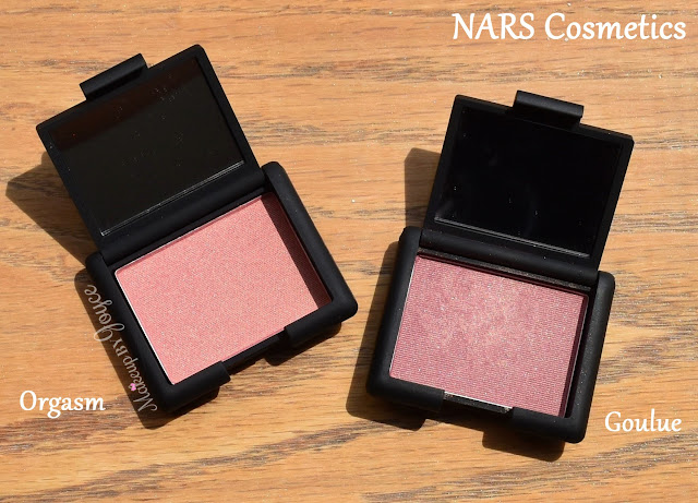 Nars Orgasm vs Goulue Powder Blush Comparison Review
