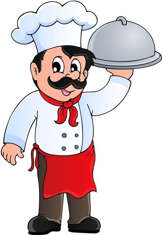 Dibujos a color cocineros a color for Herramientas de un cocinero
