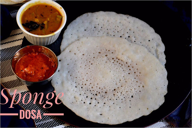 SPONGE DOSA RECIPE/ BUTTERMILK DOSA RECIPE (NO URAD DHAL & NO FERMENTATION DOSA) RECIPE