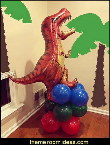 Dinosaur birthday party Supplies - dinosaur party decorations - Dinosaur Party Theme - dinosaur party decoration ideas - Dinosaur Dino Party Decoration Supplies - Prehistoric Dinosaur Party  - Dinosaur Theme Kids Birthday Party Decoration