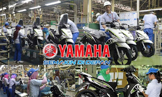 Lowongan Kerja PT Yamaha Indonesia Motor Mfg, Jobs: Production Control, Marketing Business Development, Promotion Staff, IT Staff, Trainer Staff