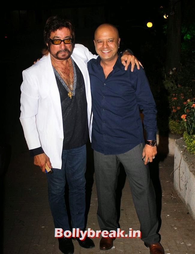 Shakti Kapoor and Naved Jaffrey, Kainaat, Huma & Manjari at Sanjay Gupta Party for Milap Zaveri