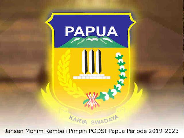 Jansen Monim Kembali Pimpin PODSI Papua Periode 2019-2023