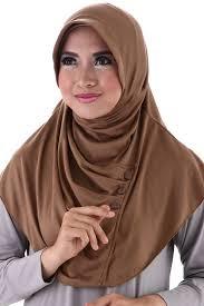 Model Hijab Segi Empat Modern