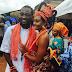 First photos from Osas Ighodaro and Gbenro Ajibade's traditional wedding