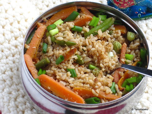 Thai Peanut Sauce With Rice