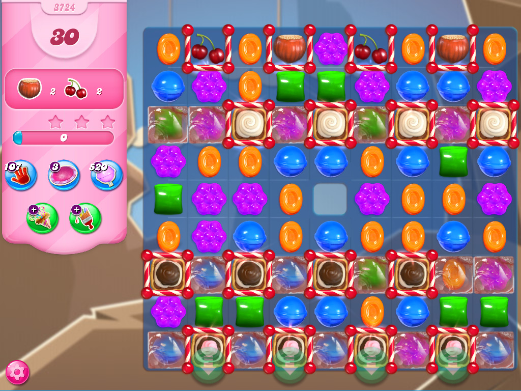 Candy Crush Saga level 3724