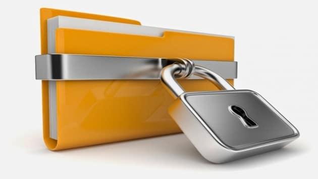 Software for folder lock